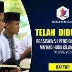 Program Beasiswa S1 Pendidikan Islam TA 2020/2021