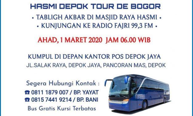 HASMI Depok Sediakan Bus untuk Pemberangkatan Tabligh Akbar HASMI