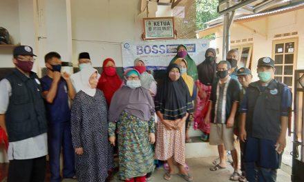 Penyaluran Bantuan untuk warga Jati Jajar RT.02 RW.07